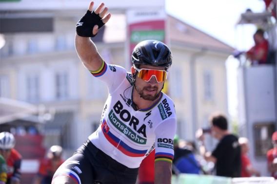 Zeventiende ritzege ooit voor Peter Sagan in Ronde van Zwitserland, Slovaak is ook de nieuwe leider
