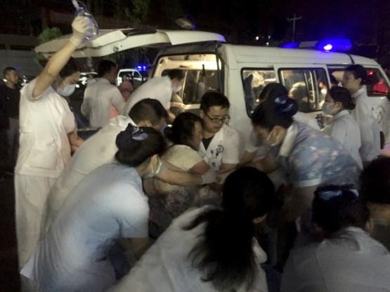 Minstens 11 doden en 122 gewonden bij zware aardbeving in China
