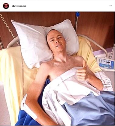 Toch ook goed nieuws voor Team Ineos: Chris Froome mag ziekenhuis over enkele dagen verlaten