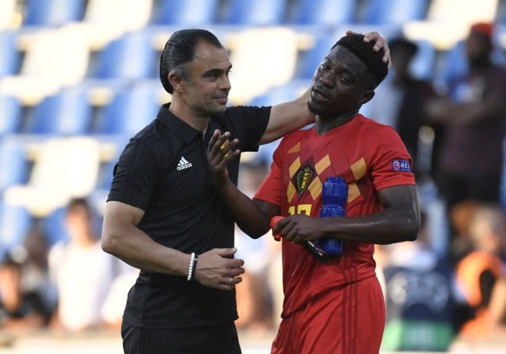 Moedige Belgische beloften gaan in slotfase kopje-onder tegen Spanje en zijn allicht uitgeschakeld op het EK U21