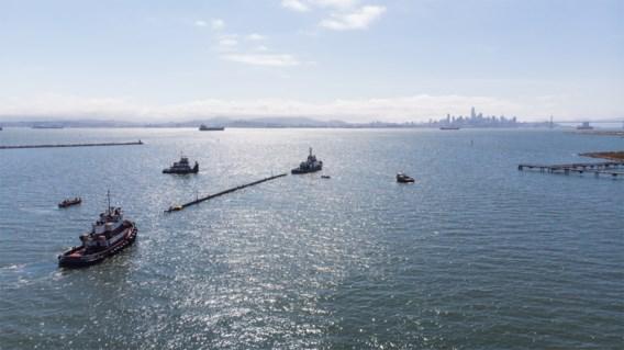 Plasticvanger The Ocean Cleanup vaart weer uit