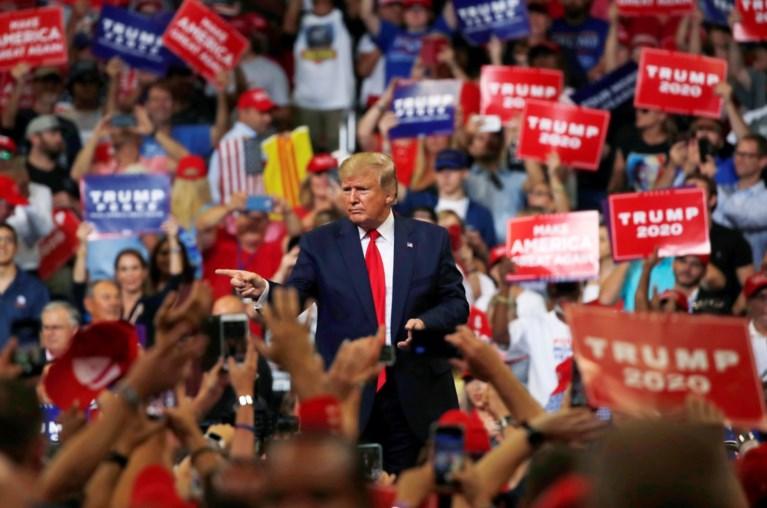Trump trapt campagne voor tweede ambtstermijn af: 'Keep America Great'