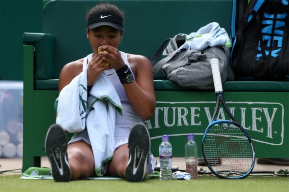 Eerste plaats Osaka in gevaar na uitschakeling in tweede ronde op WTA Birmingham