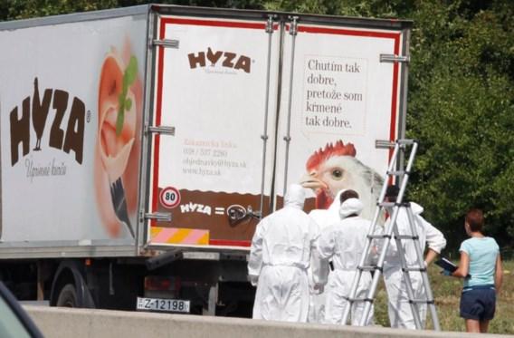 Levenslang voor vier mensensmokkelaars die 71 migranten lieten stikken in koelwagen