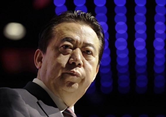 Chinese ex-topman Interpol pleit schuldig aan passieve corruptie