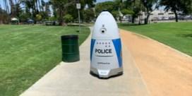 Hier patrouilleren robots in plaats van agenten door de straten