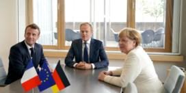 Macron gebeten hond voor EVP, naam Michel blijft circuleren