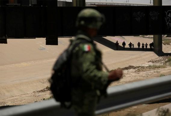 Mexico plaatst 15.000 manschappen aan grens met VS om migranten te stoppen