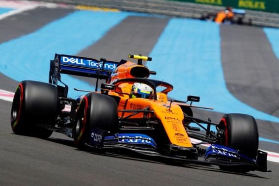Lando Norris tijdens GP van Frankrijk verkozen tot 'Driver of the day'