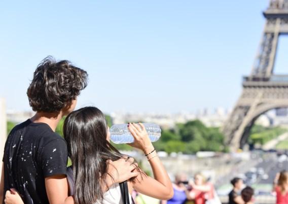 Gevoelstemperatuur in Parijs: tot 48 graden