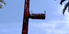 Kabel breekt bij vrije val-attractie in pretpark