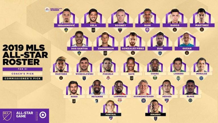 Pozuelo prijkt naast Rooney en Ibrahimovic in selectie voor All Star Game