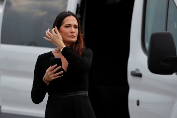 Trump pikt woordvoerster Melania in