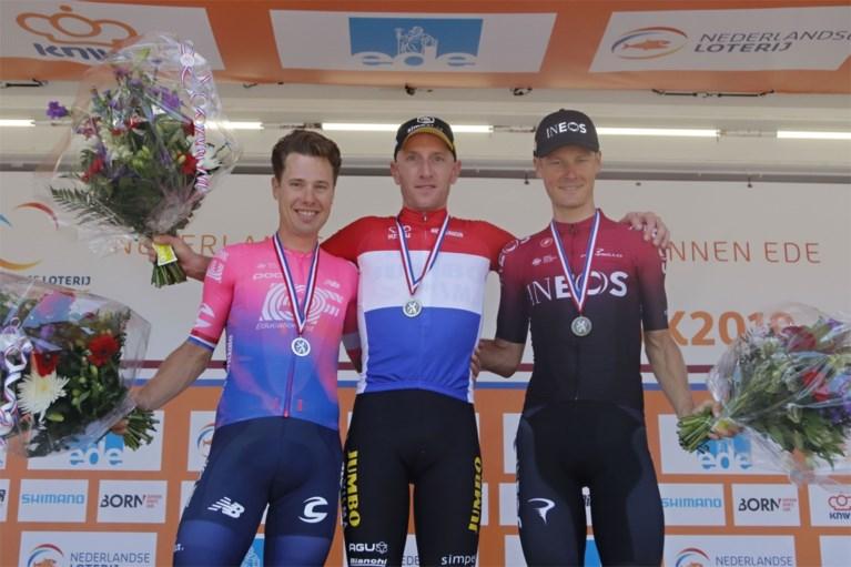 Jos van Emden blijft Langeveld voor en is Nederlands kampioen tijdrijden