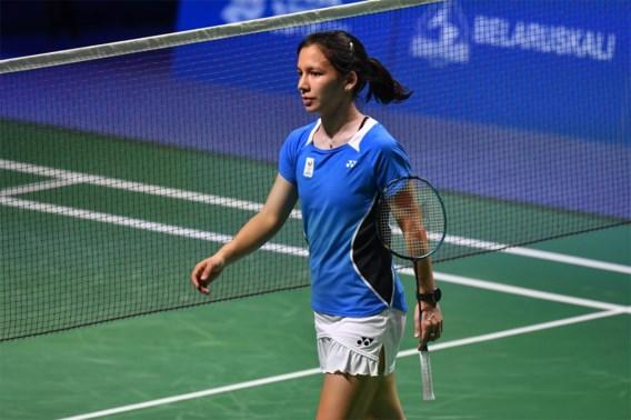 Badmintonster Lianne Tan staat in achtste finales op Europese Spelen na makkelijke zege