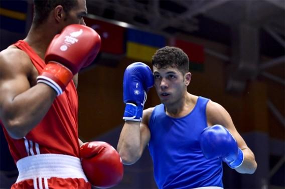 Bokser Ziad El Mohor grijpt naast medailles op Europese Spelen