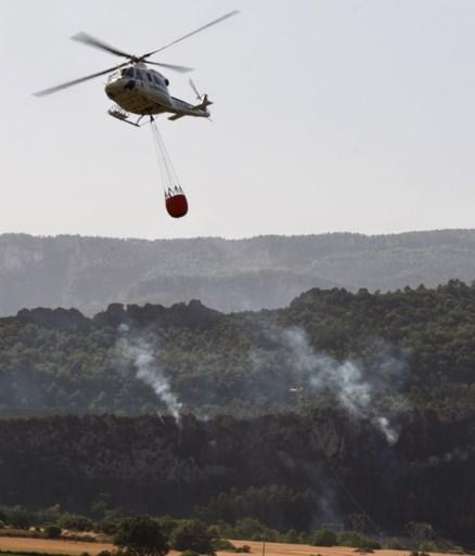 Bosbrand in Catalonië verwoest 3.500 hectare bos