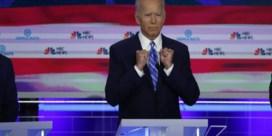 Topfavoriet Joe Biden beleeft rotavond in eerste debat
