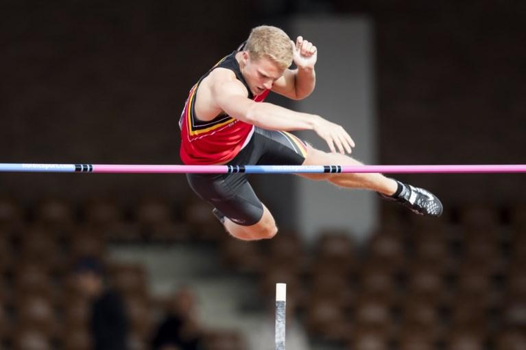 Ben Broeders stelt Belgisch record polsstokspringen bij naar 5m76