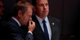 Europese leiders raken het niet eens over topjobs, overleg uitgesteld tot dinsdagochtend