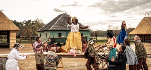 Dagelijks zomertheater  'Bravo! meneer Bruegel' in Bokrijk