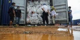 Indonesië stuurt afval terug naar het Westen