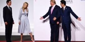 Een ongenode gast tussen de wereldleiders