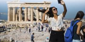 Akropolis in Athene tijdelijk gesloten omwille van hitte