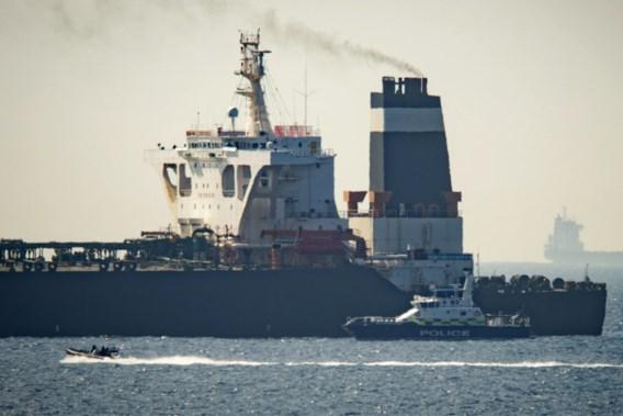 Tanker met olie voor Syrië in Gibraltar tegengehouden door Britse marine