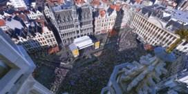 Brussel verwacht massa volk: 'Kom met de trein'