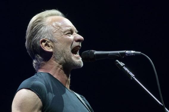 Sting zegt last minute af voor Gent Jazz