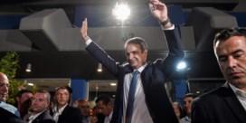 Grieken geven alle macht aan Mitsotakis