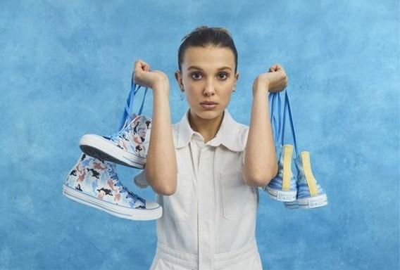 'Stranger things'-actrice Millie Bobby Brown ontwerpt collectie voor Converse