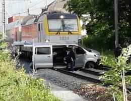 Bestuurder van auto die in Zele gegrepen werd door trein, had geen rijbewijs