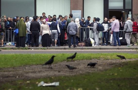 Vluchtelingen trekken naar Vlaamse steden