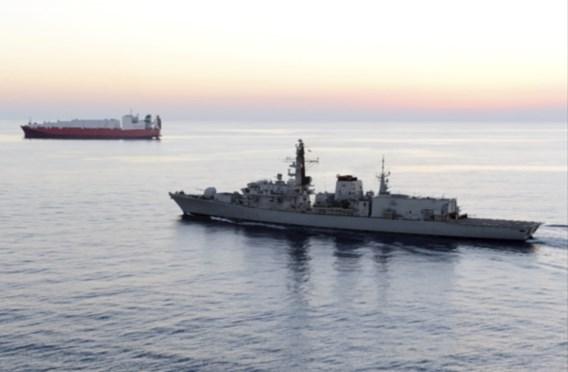 Iraanse schepen wilden beslag leggen op Britse olietanker in de Golf