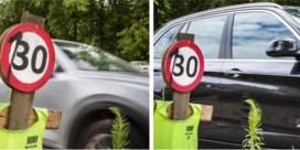 ''s Nachts rijden kwade bestuurders luid toeterend door onze straat'