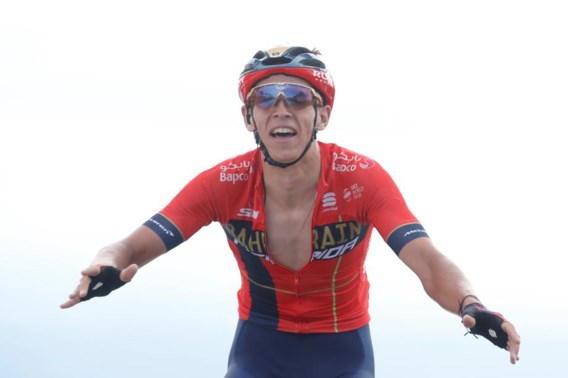 Dylan Teuns pakt eerste bergrit in Tour