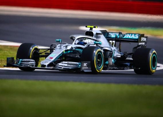 Mercedes bovenaan tijdens tweede oefensessie GP van Groot-Brittannië