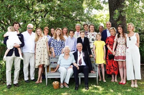 Koning Albert en koningin Paola vieren diamanten jubileum in Frankrijk