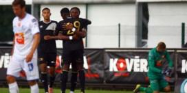 OEFENMATCHEN. Standard verliest en ziet Oulare uitvallen, STVV klopt AA Gent en Eupen wint van Leverkusen