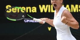 Simona Halep wint finale Wimbledon tegen Serena Williams