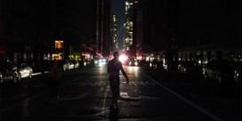 Stroompanne in New York lokt spontaan gezang uit op Broadway