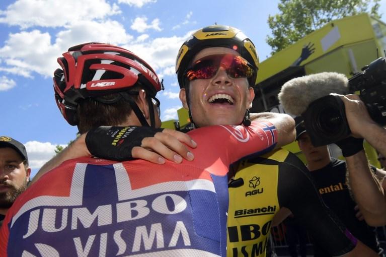Derde Belgische ritzege: Wout van Aert blijft indruk maken in eerste Tour de France