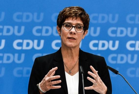 Ursula von der Leyen al vervangen als Duitse minister van Defensie