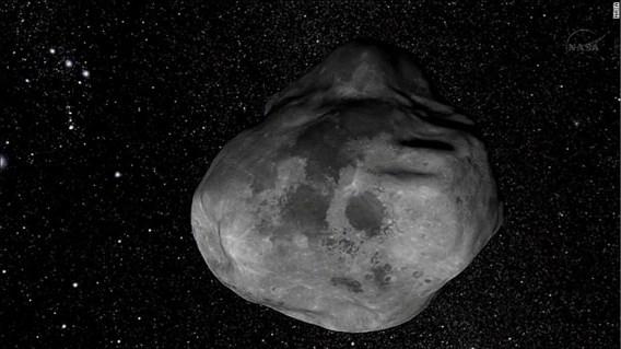 Grote planetoïde zal aarde niet raken, voorlopig toch