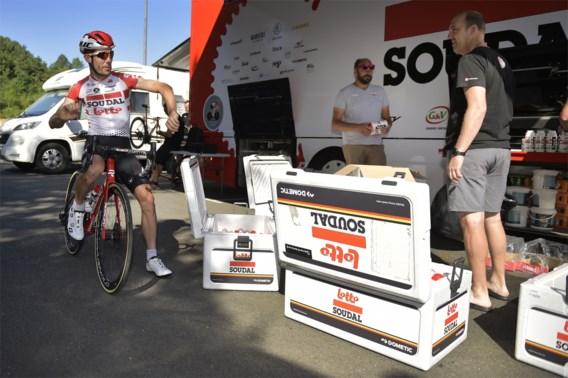 Soudal-Lotto krijgt inbrekers over de vloer in de Tour de France