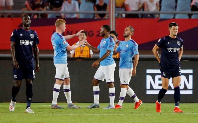 Thorgan Hazard maakt debuut bij Dortmund en Kevin De Bruyne wint ruim bij rentree, Romelu Lukaku blijft aan de kant
