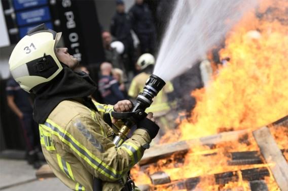 Brandweer kant zich tegen 'te soft' logo