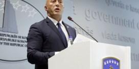 Kosovaarse premier treedt af voor verhoor door VN-tribunaal